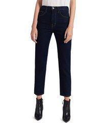 current/elliott women's the vintage cropped slim jean - clean rigid indigo - size 23 (00)