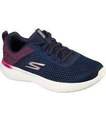 zapatos mujer  go run 400 v2 - scion azul skechers