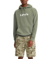 levi's men's graphic relaxed fit hoodie