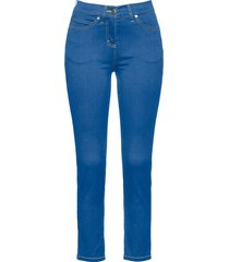 jeans alla caviglia ultra elasticizzati (blu) - bpc selection