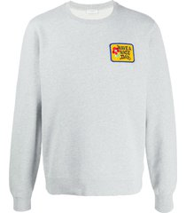sandro paris have a nice day sweatshirt - grey