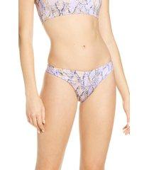 women's l space tanline brazilian bikini bottoms