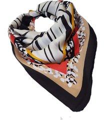 pañuelo negro nuevas historias  cebras combinado ba1405-12
