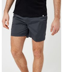 orlebar brown men's bulldog sport swim shorts - ebony - xl