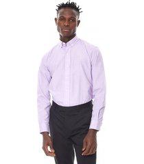 camisa formal lila corona