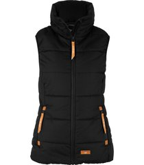 gilet imbottito a collo alto (nero) - bpc bonprix collection