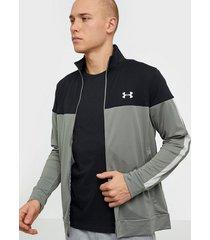 under armour sportstyle pique track jacket träningsjackor grön