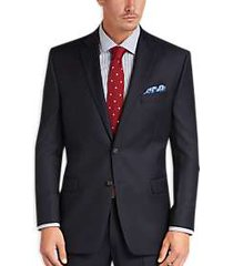 lauren by ralph lauren navy classic fit suit