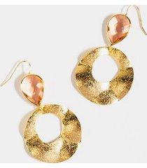 aubrey teardrop earrings - champagne