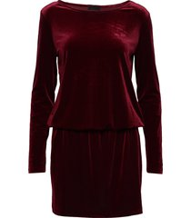 2nd shelly kort klänning röd 2ndday