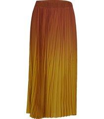 anno hw maxi skirt knälång kjol gul second female