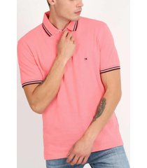polo tommy regular coral tommy hilfiger