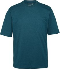 wolverine men's knox short sleeve tee (big & tall) blueprint heather, size xlt