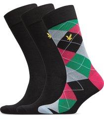 grayson underwear socks regular socks multi/mönstrad lyle & scott