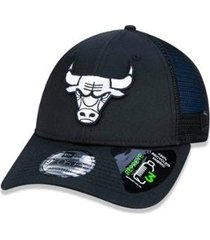 boné 940 chicago bulls nba aba curva new era