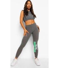 self care leggings, charcoal
