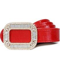 cinturon ivette rojo carven