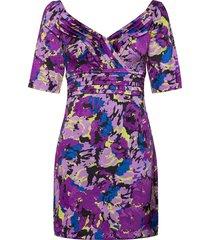 mimosa dress kort klänning lila guess jeans