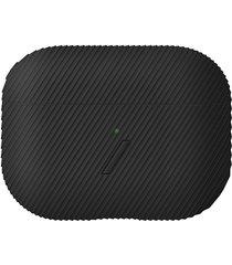 curve airpods pro case - black