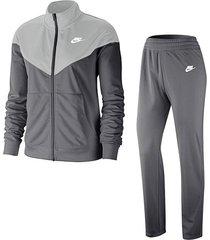 sudadera nike sportswear para mujer-negro-negro-gris