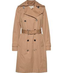 winter trench trenchcoat lange jas bruin michael kors