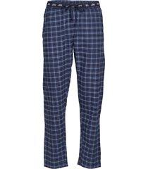 jbs pajamas pants, flannel mjukisbyxor blå jbs