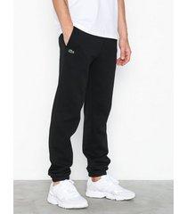lacoste pantalon de survetement byxor black