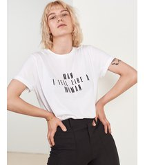 t-shirt man i feel like a woman