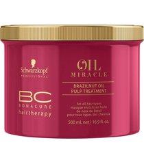 bonacure oil miracle brazilnut pulp treatment 500ml schwarzkopf
