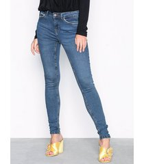 noisy may nmlucy nw pckt piping jeans vi877db jeans