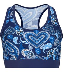 reggiseno bikini a bustier (blu) - bpc bonprix collection