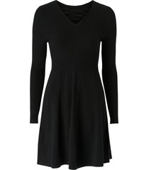 klänning onlstring l/s dress knt
