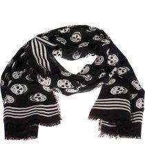 alexander mcqueen mini skull foulard