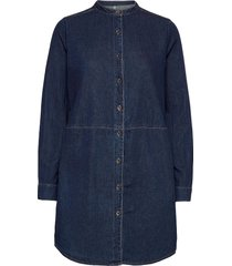 cupaola long shirt overhemd met lange mouwen blauw culture