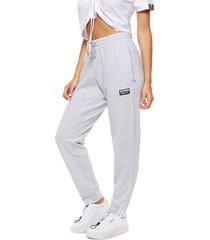 pantalón gris adidas originals r.y.v sweatp