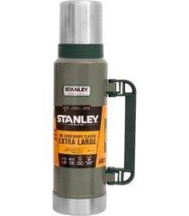 garrafa térmica classic stainless steel 1,3l verde