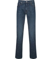 levi's: made & crafted 511 slim selvedge jeans - blue