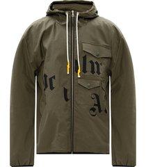 -logo gedrukt jacket