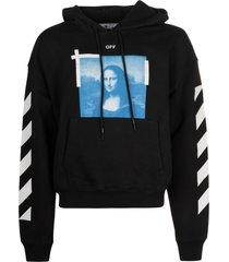 off-white monalisa over hoodie