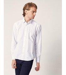 camisa celeste prototype damero