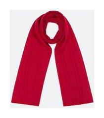 cachecol básico em poliéster | accessories | vermelho | u