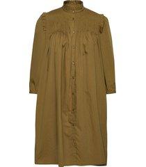 yasrobbia 3/4 dress ft s. dresses everyday dresses brun yas