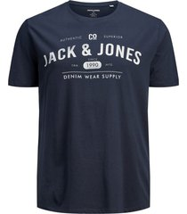 jack & jones t-shirt navy plus size