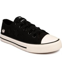 zapatilla canvas negro bubble gummers