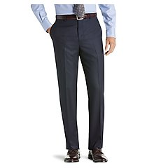 reserve collection tailored fit flannel dress pants clearance by jos. a. bank