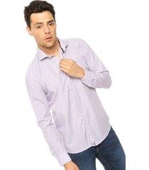 camisa violeta crow boris exclusive