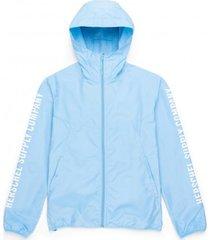 herschel jas supply co. men's voyage wind alaskan blue sleeve print-s