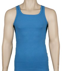 hugo boss tanktop ribstof blue
