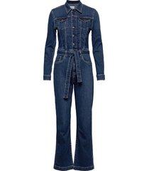 carrie jumpsuit blå pepe jeans london