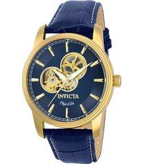 reloj invicta modelo 22617 azul marino hombre